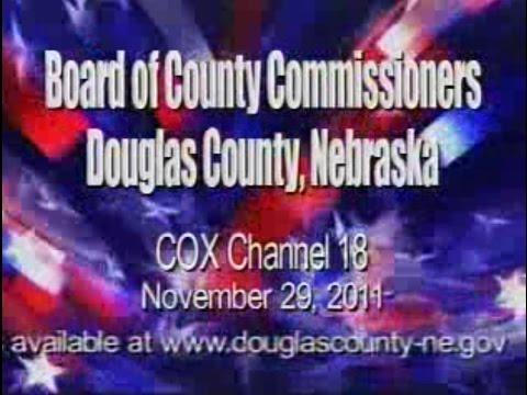 Board of County Commissioners, Douglas County Nebraska, November 29, 2011 Meeting
