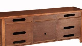 Artisan Oak Tv Console