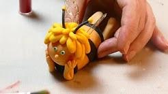 3D Biene Maja aus Fondant | Tutorial | How to make