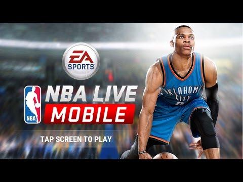 Review รีวิว เกมส์ NBA LIVE MOBILE เกมส์บาสเกตบอลสุดเจ๋ง จาก EA ( เกมส์มือถือ )