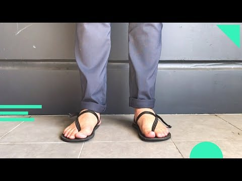 Best Minimalist Barefoot Footwear for Travel? Elemental Earth Runners Sandals Review