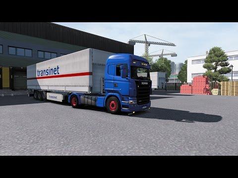 "ETS 2 - 1.27 ""Drumuri Europene"" Dresden - Grozow Wlkp. Scania R420"