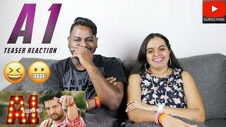 A1 Teaser Reaction | Malaysian Indian Couple | Santhanam | Santhosh Narayanan