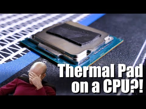 Thermal Pad Instead of Thermal Paste?
