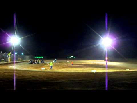 Texoma motor speedway part 1 dirt cup open 500cc feature  9-22-2012