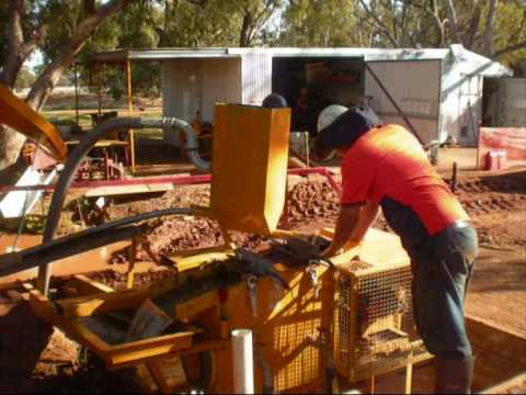 Processing plant operation and Pt concentrate production Fifield NSW - July 2009