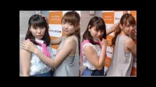 SUPER☆GiRLS (スーパーガールズ / スパガ) 宮崎理奈 、 志村理佳 sup...