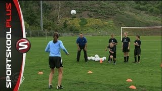 How to Receive a Soccer Ball in the Air with Mia Hamm