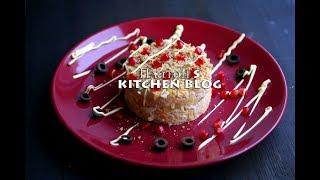 Платон's Kitchen Blog | Салат с ананасами, орехами, сыром и курицей