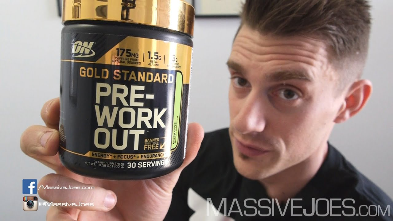 Optimum Nutrition Gold Standard Pre Workout Supplement Review