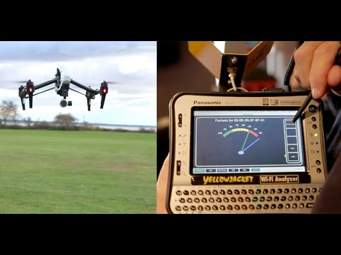 How do you detect a drone? Use Yellowjackets-Tablet for Wi-Fi security