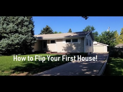How To Flip Your First House You