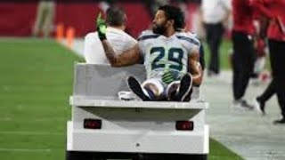 Earl Thomas III Shows Middle Finger and Flips Off Seattle Seahawks Bench After Getting Injured