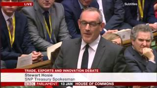 Dennis Skinner 13.01.2016 - Comments in the Trade, Exports and Innovation Debate.