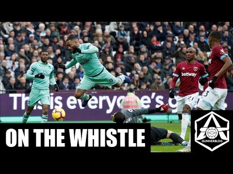 "On the Whistle: West Ham 1-0 Arsenal - ""Ozil omission casts shadow over poor Arsenal"" Mp3"