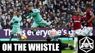 On The Whistle West Ham 1 0 Arsenal Ozil Omission Casts Shadow Over Poor Arsenal