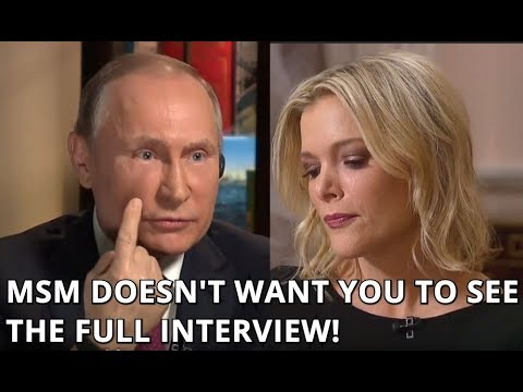 EXCLUSIVE FULL UNEDITED Interview of Putin with NBC's Megan Kelly