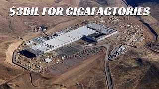 Tesla Joining S&P 500 + Spending $3 BILLION on Gigafactories