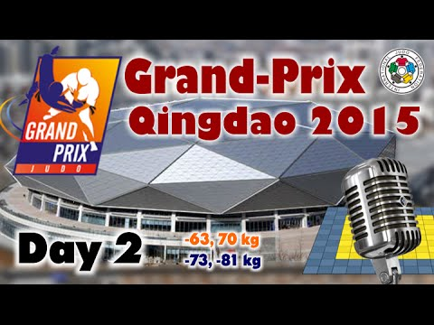 Judo Grand-Prix Qingdao 2015: Day 2 - Final Block