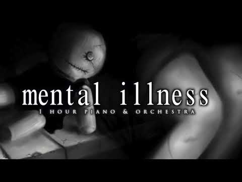 1 Hour Dark Piano for Mental illness | Piano For Mental Illness