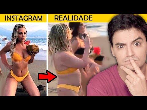 FOTOS DO INSTAGRAM vs. REALIDADE - A verdade!