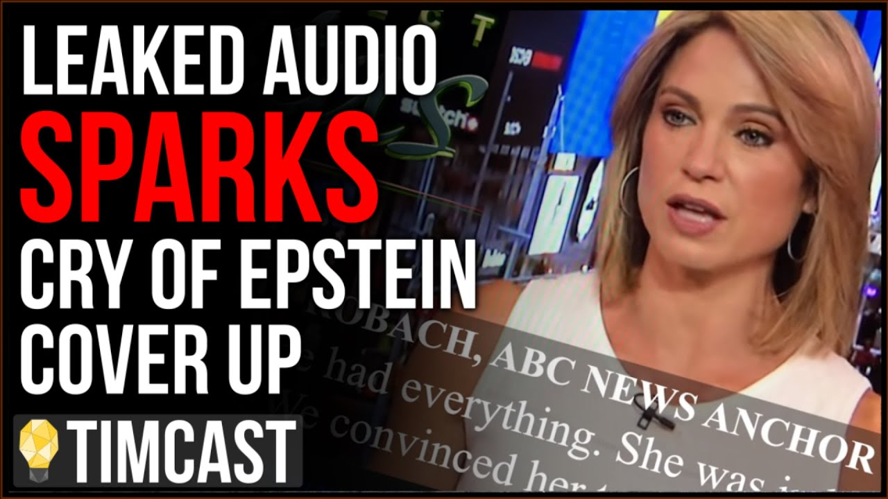 Tim Pool Leaked Audio Of ABC News Sparks Cry Of Epstein COVER UP, Story Implicates MORE Journalists