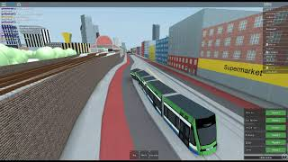 ROBLOX:Mind The Gap:Classic , RP DLR Ride from Westport to Bank