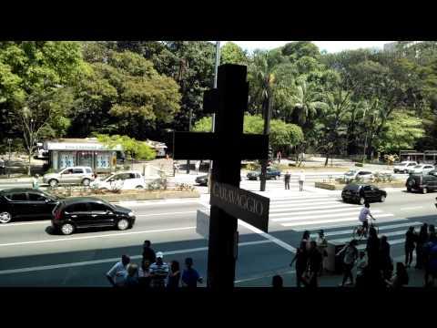 Avenida Paulista vista do MASP, São Paulo. 15/Sep/2012