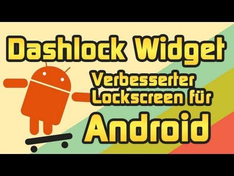 Dashlock Widget - Mails, SMS, Kalender usw. auf dem Android Lockscreen