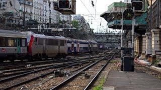 Paris St Lazare - Timelapse [1heure à l'heure de pointe]