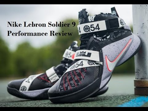 sale retailer 95ee0 4ba93 Nike Lebron Soldier 9 Performance Review