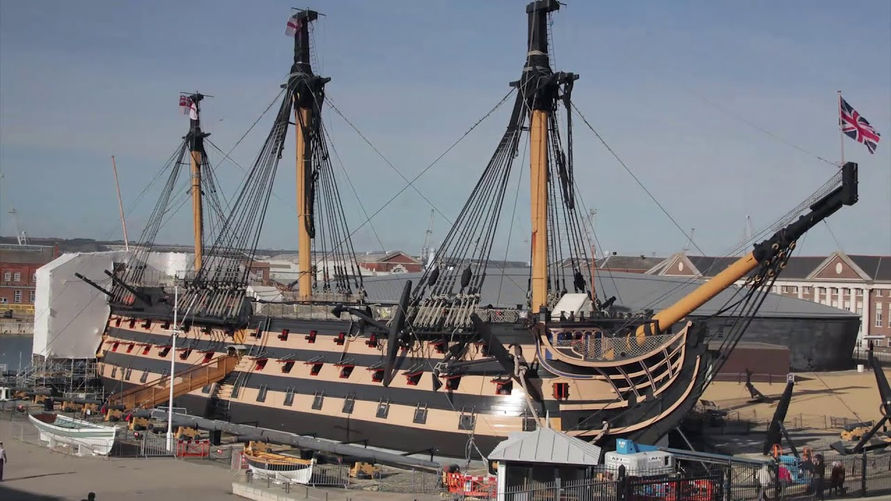 hms victory in true colours