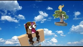A tiny tree in the sky?: Roblox pocket editon: Escape the iPhone obby!