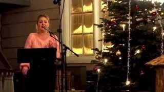 Målfrid Marie - O helga natt (Konsmo kirke - Julen 2014)
