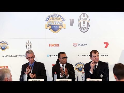 Juventus- A-League All Star Team. La presentazione a Sydney - Presentation in Sydney