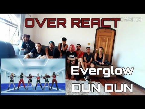 [OVER REACT] EVERGLOW (에버글로우) - DUN DUN MV