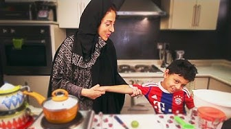 Popular Lugimat Saudi Traditional Dessert | Saudi Arabia | حلي لقيمات عوامة  فتات سعودية | السعودية