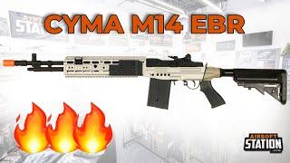 cYMA M14 EBR Airsoft Gun Overview