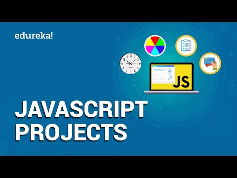JavaScript Projects | Pick Your Color, To Do List, Shopping Cart In JavaScript | Edureka