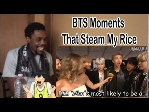 BTS Moments That Steam My Rice - REACTION - 동영상