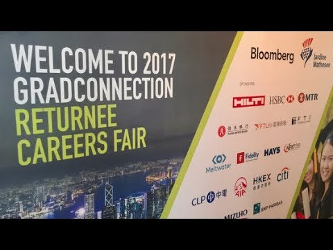 GradConnection Returnee Careers Fair Shanghai 2017