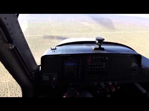 landing at Victorville kvcv California