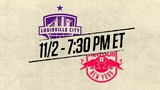 2018 #USLPLAYOFFS - Louisville City FC vs New York Red Bulls II: November 2nd, 2018
