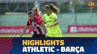 [HIGHLIGHTS] FUTBOL FEM (Liga): Athletic Club - FC Barcelona (0-1)
