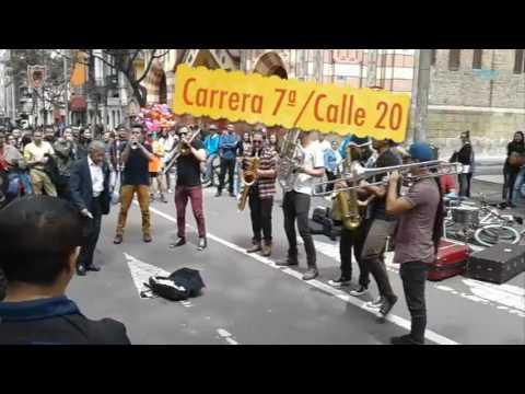 STREET ARTISTS BOGOTÁ   COLOMBIA