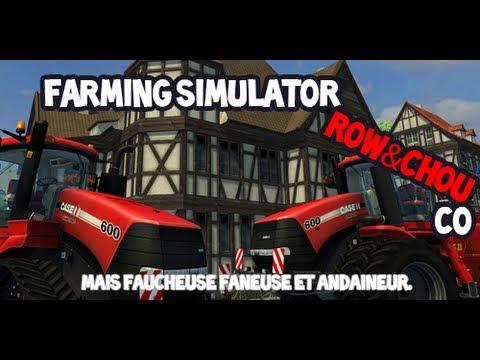 Le Maïs, la Faucheuse, la Faneuse et l'Andaineur, la famille ! - Farm Sim.