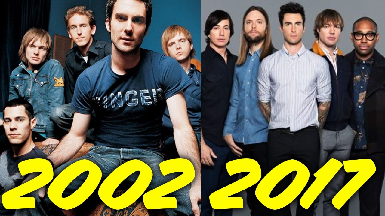 The Evolution Of Maroon 5  2002-2017
