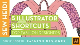 Sketch Fashion Flats Faster with these 5 Illustrator Shortcuts