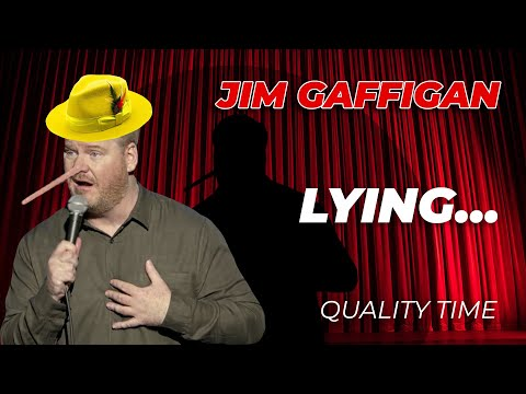 """""""Sometimes I Lie on Stage…"""" – Jim Gaffigan Stand Up (Quality Time)"""