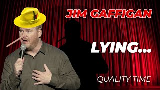 """Sometimes I Lie on Stage..."" - Jim Gaffigan Stand Up (Quality Time)"